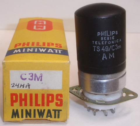 C3M Valvo branded Philips NOS early 1960's (24ma)