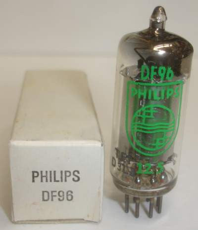 DF96=1AJ4 Philips by Valvo Germany NOS 1963 (sold out)