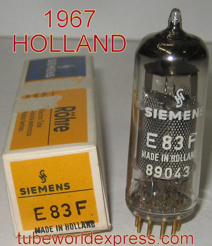 E83F=6689 Holland branded Siemens Gold Pins NOS 1967 (9.2ma)