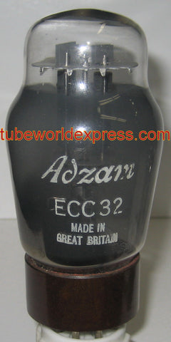 (!!!!) (~ Recommended Single ~) ECC32 ADZAM by Mullard like new brown base/black plates