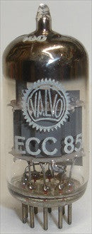 (!!) (Recommended Single) ECC85 Valvo Holland NOS 1963 in white box (14.8ma/18.2ma)