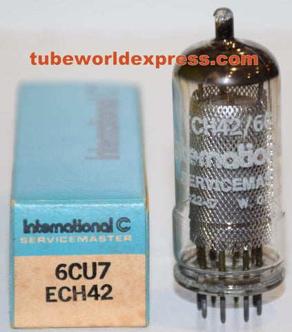 ECH42=6CU7 International Germany NOS made by La Radiotechnique France early 1960's (3 in stock)