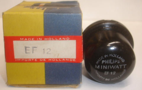(!!) (#1 EF12) EF12 Philips Miniwatt Holland NOS 1955 (3.7ma)