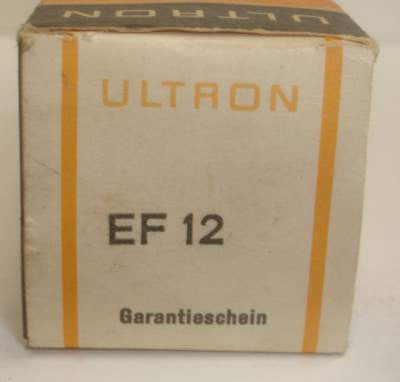 EF12 Ultron Germany NOS 1950's (3.9ma)