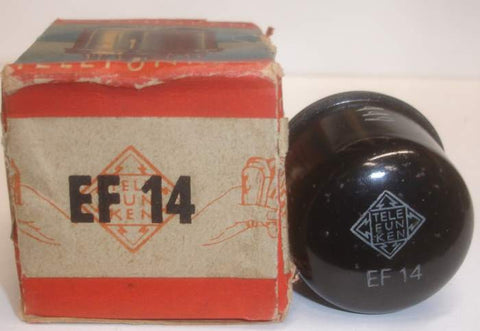EF14 Telefunken tests like new 1951 (18.5ma) Buy 2 receive 5% discount