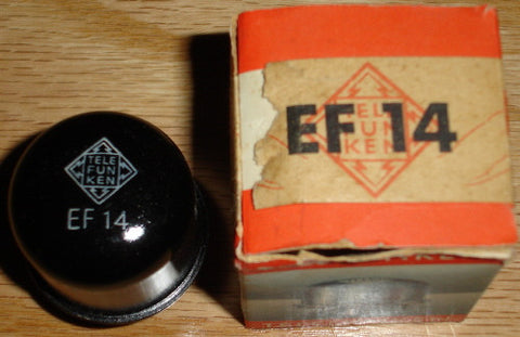 (!!) (#1 EF14) EF14 Telefunken NOS 1952 (18.2ma) Buy 2 receive 5% discount