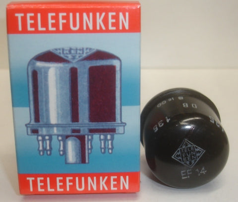 EF14 Telefunken like new 1950's (16.6ma)