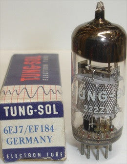 (!!) (BEST SINGLE) EF184 Siemens branded Tungsol NOS 1964 (12.6ma)