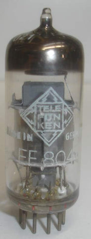 (BEST VALUE) EF804 Telefunken low hours/like new 1960's (3.3ma)