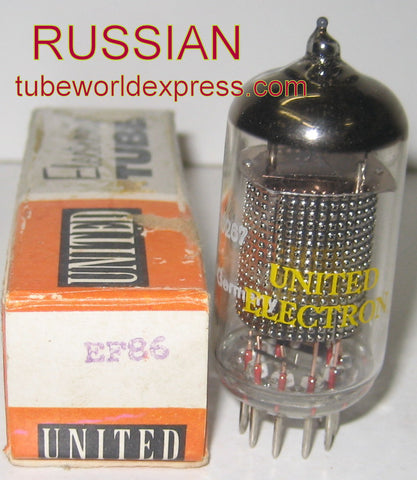EF86 United Russian NOS 1980's (3.1ma)