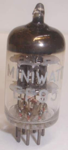 (!!) (#1 6AK5 Single) EF95=6AK5 Miniwatt by Mullard NOS 1969 (10.2ma) (Highest Ma and Gm)