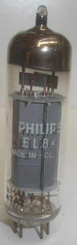 EL84 Philips Holland NOS made in Wien, Austria (kM4-A7A2=1967) (46ma)