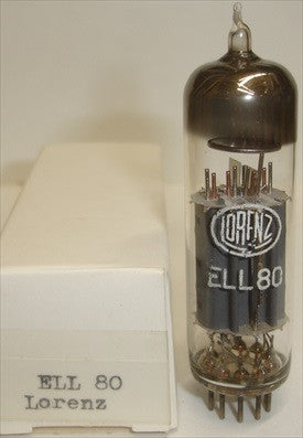 ELL80 LORENZ Germany NOS 1970's slightly tilted glass (24ma and 20.5ma)