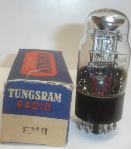 EM11 Tungsram NOS original box (bright green eye)