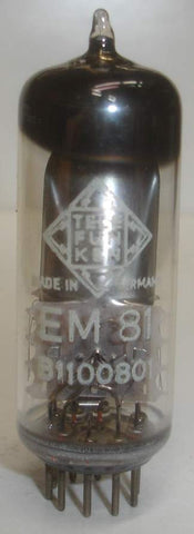 EM81 Telefunken Germany <> bottom used/very good in white box 1970