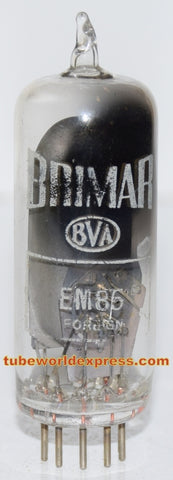 EM85=6DH7 Brimar probably made in Germany like new in white box - bright eye