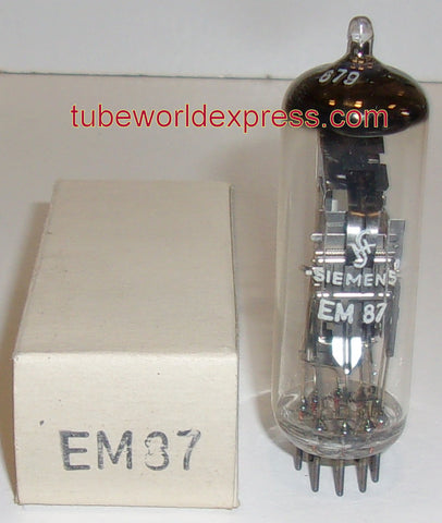 (!) (#2 EM87) EM87 Valvo Germany branded Siemens Germany NOS 1961 (7 in stock)