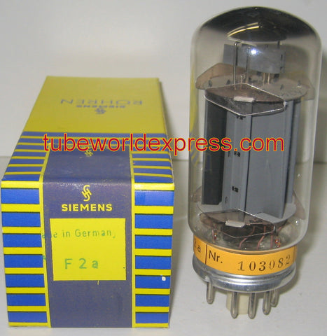 (!) (Best Single) F2a Siemens NOS 1960's (112ma) Tested on Amplitrex (pairs sold out)
