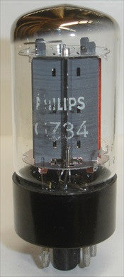 GZ34 Mullard NOS rebranded Philips 1975 (60/40 and 60/40)
