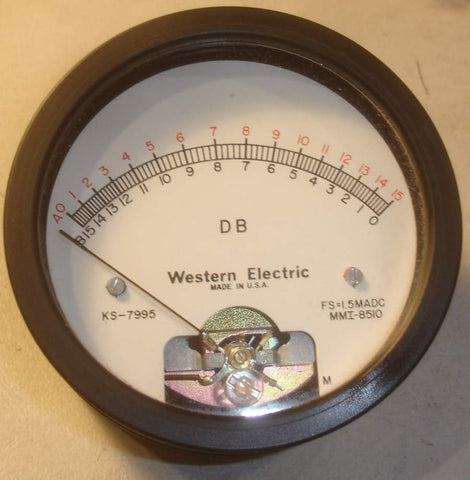 KS-7995 Western Electric DB meter in good condition