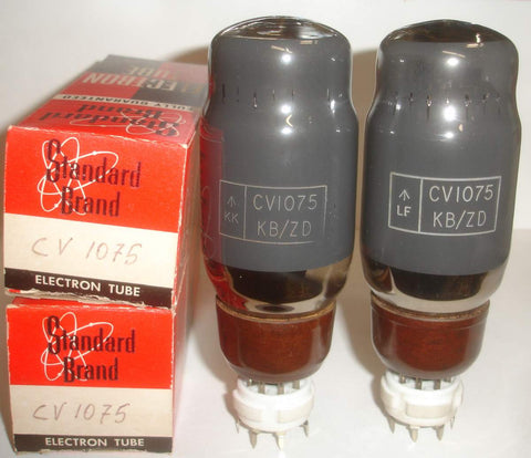 (!!!) (#1 KT66 Pair 1950's) KT66 MO-Valve (GEC), Dover England NOS made prior to 1956 (ZD) factory code (80ma and 79ma) matched on Amplitrex