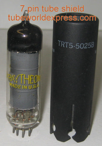7 pin tube shield NOS part # IERC TRT5-5025B (0 in stock)