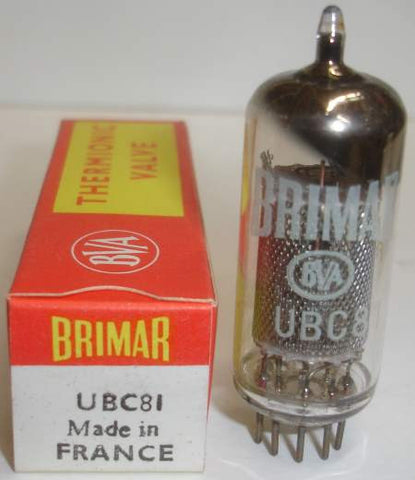 UBC81=14G6 Brimar France NOS (4 in stock)