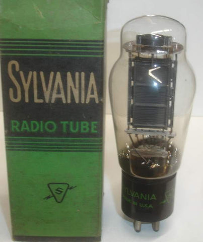 (!!) (~ Best VT-52 Sylvania Single ~) VT-52 Sylvania NOS 1940's original box (55ma)