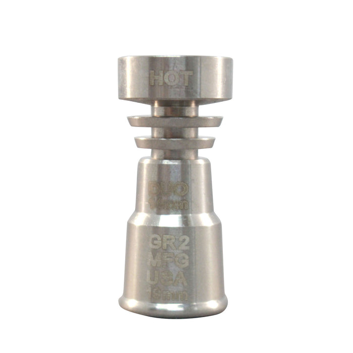 TITANIUM FEMALE DOMELESS 14MM & 18MM NAIL