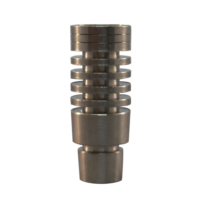 18MM MALE TITANIUM QUAD CONDENSER DOMELESS NAIL