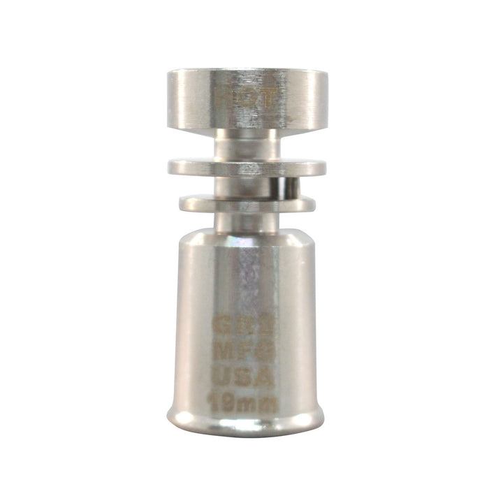 TITANIUM FEMALE DOMELESS 19MM NAIL