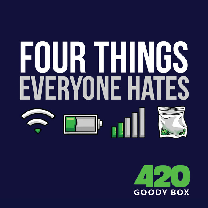 4 THINGS EVERYONE HATES STICKER