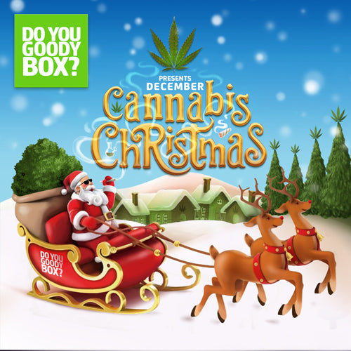 A CANNABIS CHRISTMAS GOODY BOX (ONE-TIME GIFT)