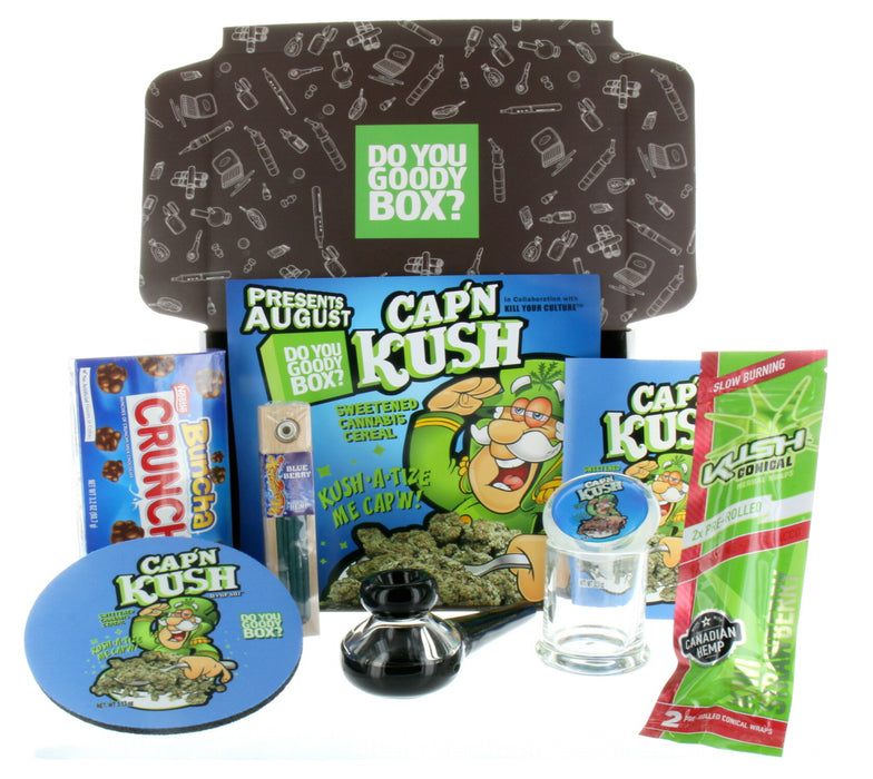 CAPTAIN KUSH GOODY BOX