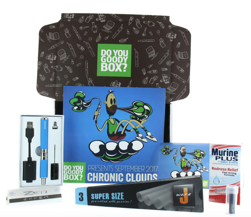 CHRONIC CLOUDS GOODY BOX