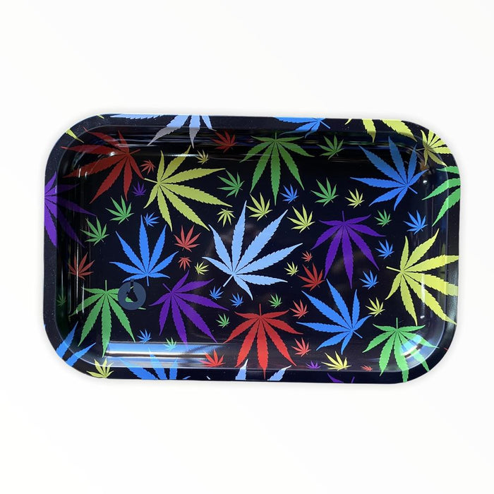 FLOWERS ROLLING TRAY