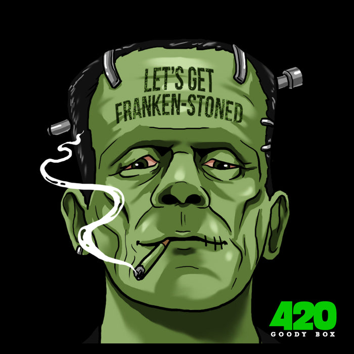 FRANKEN STONED STICKER