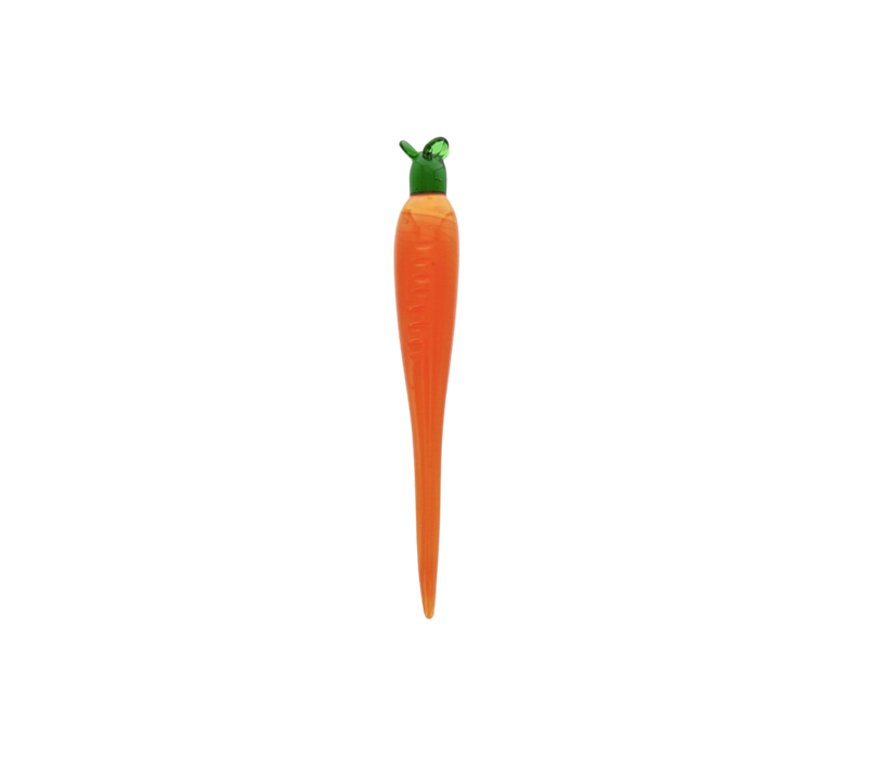 GLASS CARROT DABBER