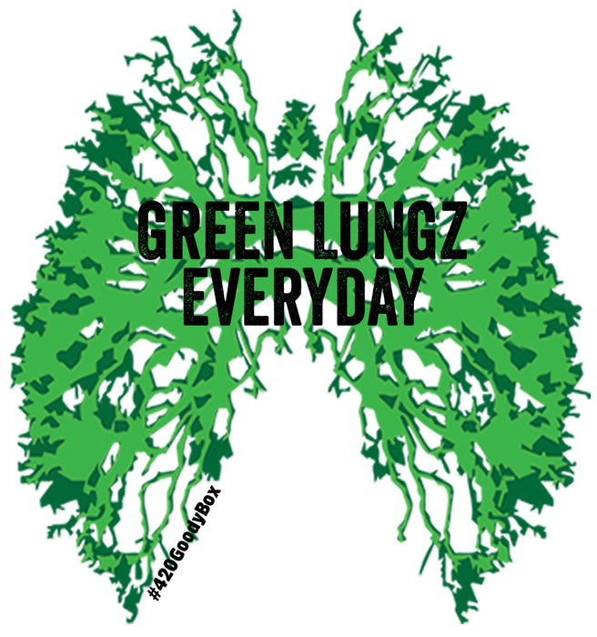 GREEN LUNGZ EVERYDAY STICKER