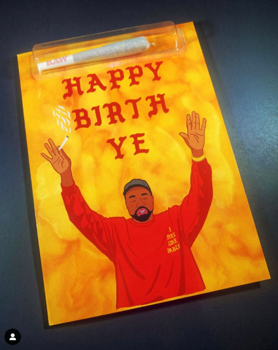 HAPPY BIRTH YE GREETING CARD