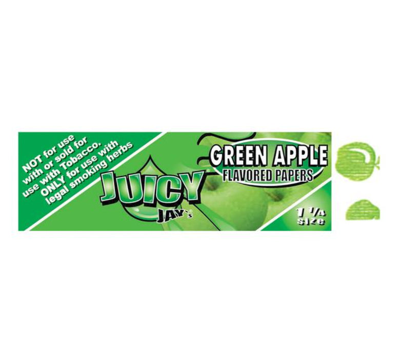 JUICY JAY GREEN APPLE - 1.25""