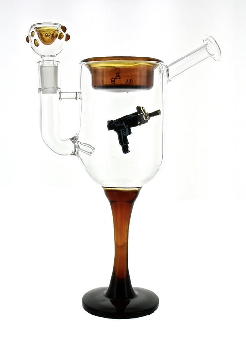 WINE NOT GLASS WATER PIPE