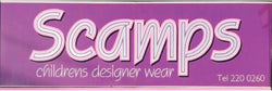 Scamps Childrens designer wear