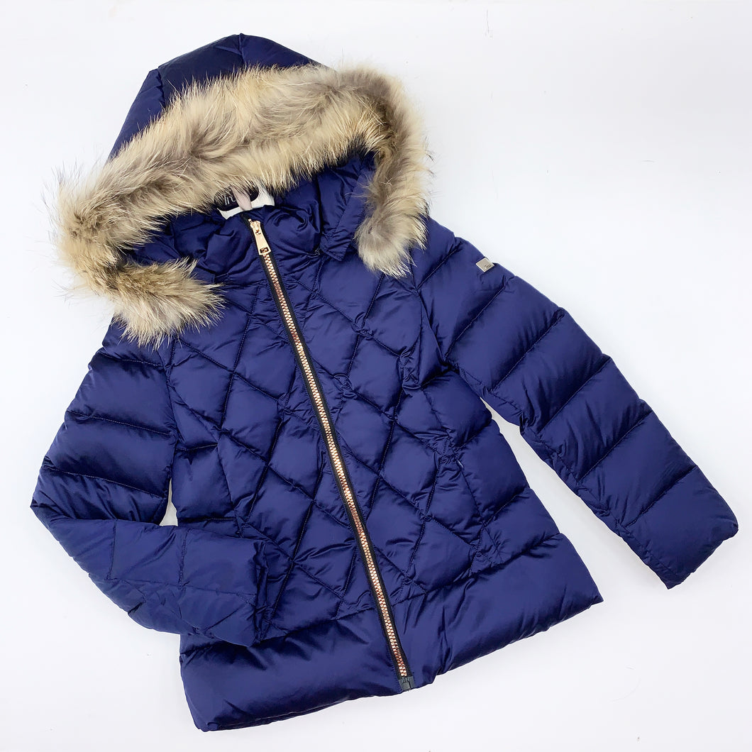 Treapi WINTER 2020 Girls navy hooded coat