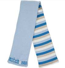 Load image into Gallery viewer, A/W20 Mitch and son blue Explore scarf MS1418S TYLER