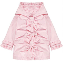 Load image into Gallery viewer, Little A 'Jaydn' Rose Button Jacket LS21200 PRE ORDER