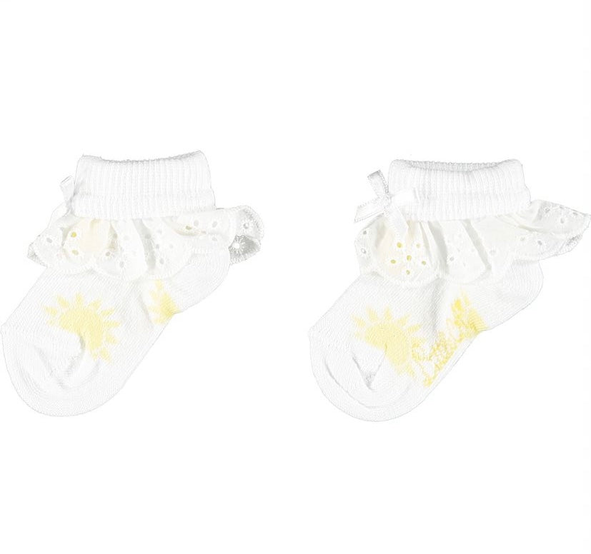 Little A 'Kelly' Sunshine Ankle Sock LS21919