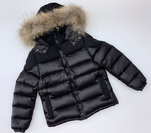 Clix WINTER 2020 Boys black hooded coat