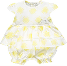 Load image into Gallery viewer, Little A 'Kacie' Sunshine Romper LS21115