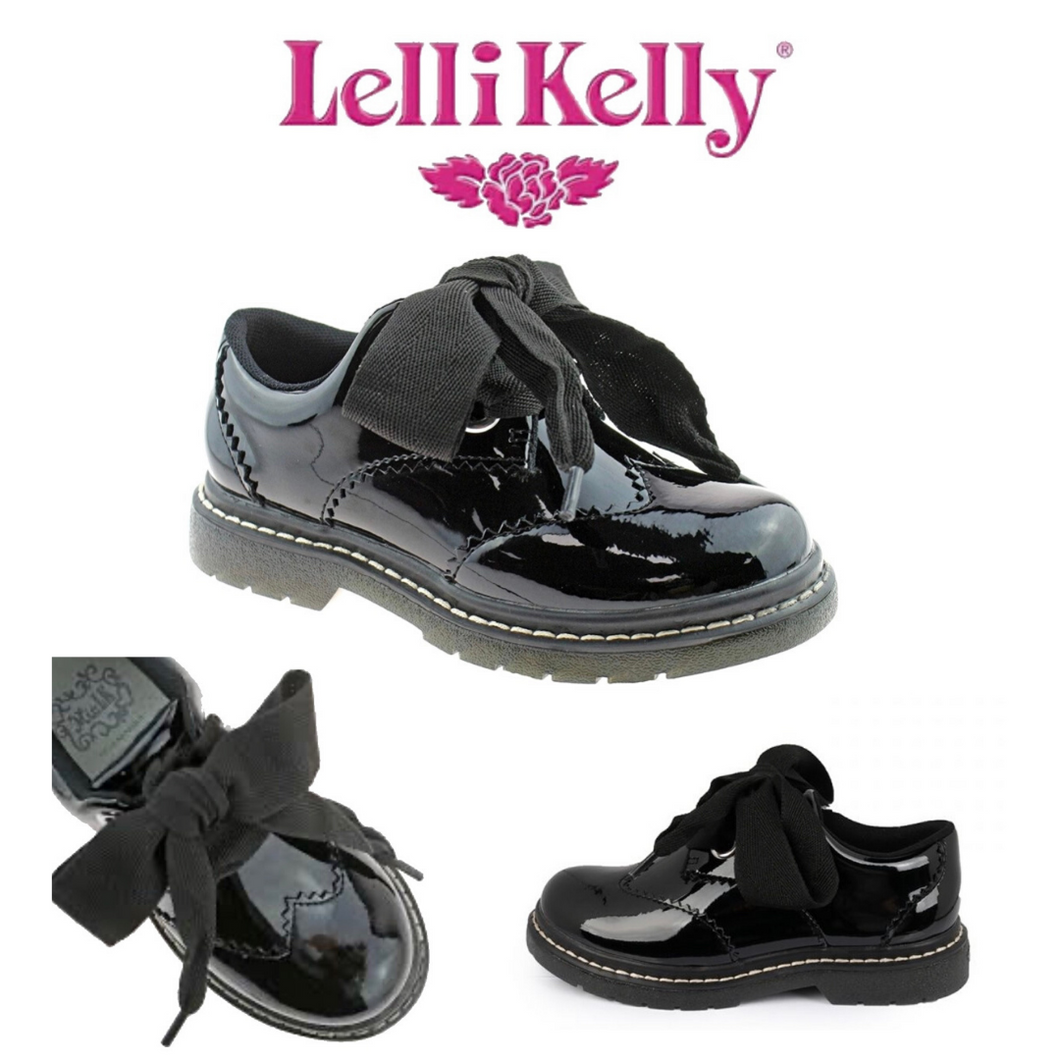 Lelli Kelly Scarlet School Shoes